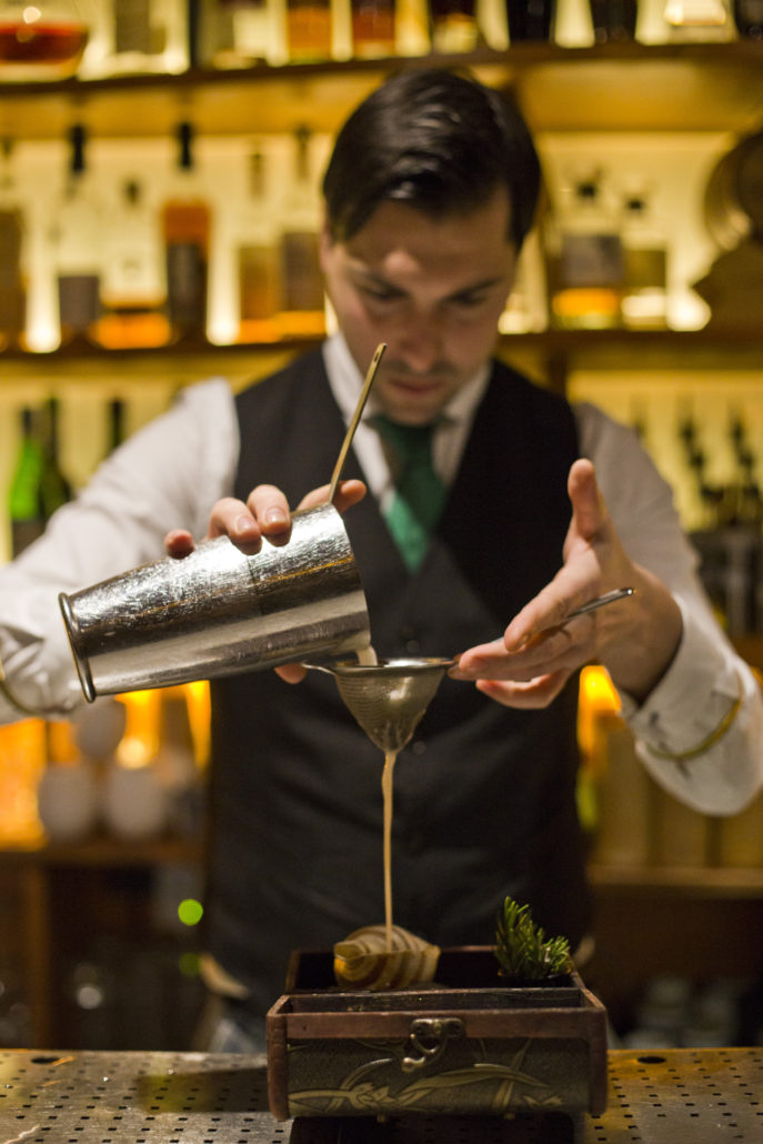 Giacomo Giannotti, Paradiso cocktail bar
