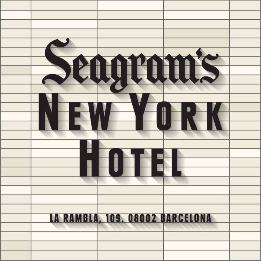 Seagram's Extra Dry Gin Hotel 1898